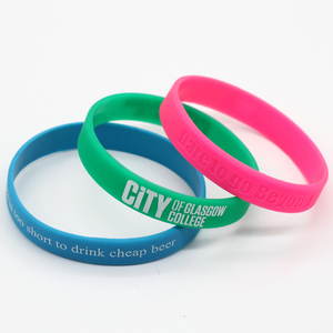 Wholesale Custom Printing Logo Silicone Wristband For Japan