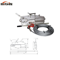 High Quality Wire Rope Pulling Lifting Hoist Machine