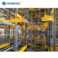 Leading Manufacture Warehouse Pallet Racks Shelves System Radio Shuttle