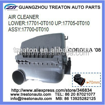 CAR AIR CLEANER FOR TY COROLLA 08 DIESEL OEM 17700-64520