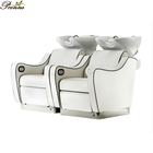 salon equipment shampoo chair/shampoo chair wash unit/white shampoo chair
