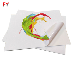 Waterproof printable vinyl sticker paper for Inkjet