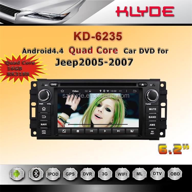 android car radio gps for jeep wrangler with DAB IVB-T function