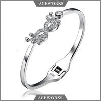 BG1003 Aceworks 925 sterling silver high quanlity fine silver bracelet handmade engraved jewelry