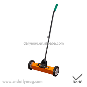 36 Inch Industrial Ground Sweeper Magnetic Sweeper