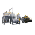 High quality PET bottle washing line/PET flakes hot washing machine/Waste plastic bottle recycling machine