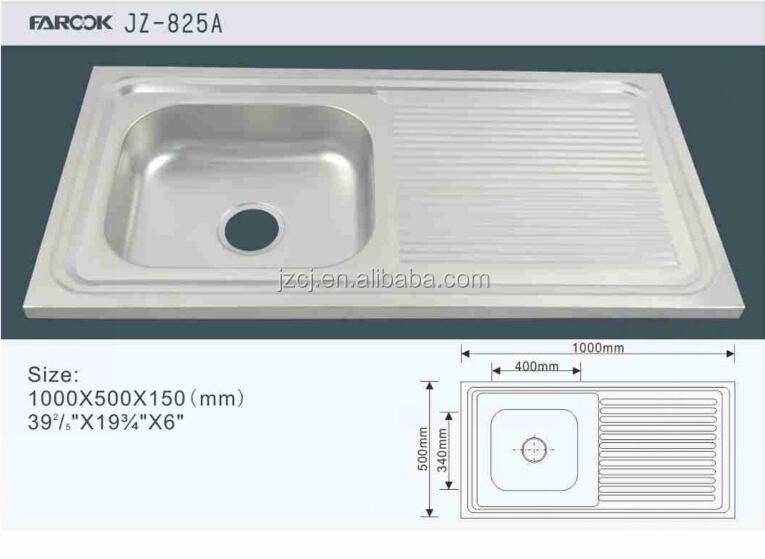 kitchen sink with wash board kitchen sink with wash board suppliers and manufacturers at alibabacom - Kitchen Sinks Cheap Prices