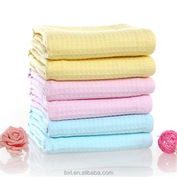 Non Terry Gauze Cotton Waffle Weave Bath Towel Buy Waffle Weave Bath Towel Non Terry Bath Towel Gauze Bath Towel Product On Alibaba Com