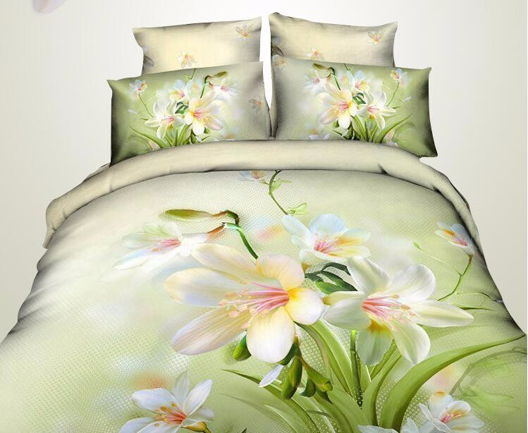 New Style China Suppliers Bed Sheet 3d Bed Cover Sheet