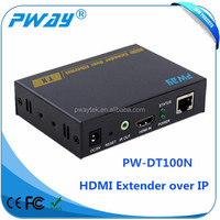 Support IR HDMI over lan extender 150m over tcp/ip with one to many