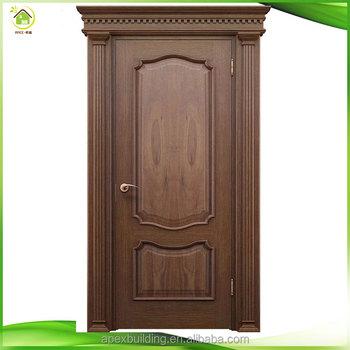 Simple Expensive Teak Solid Wood Main Front Bedroom Door