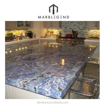 Günstige Preis Angepasst Brasilien Poliert Blue Bahia Granit Arbeitsplatte  Für Küche - Buy Granit Arbeitsplatte,Granit Küchenarbeitsplatte,Granit ...