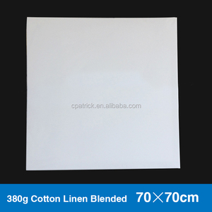 70*70cm Blank cotton linen blended canvas simply blank art stretched canvas