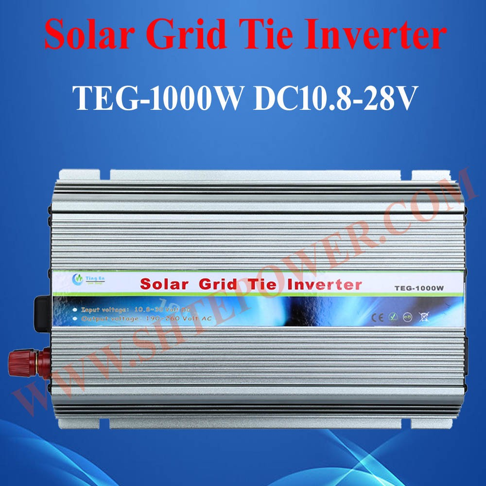 best quality 2016 new solar grig tie inverter 24-45vdc to ac 190-260vac 1000w
