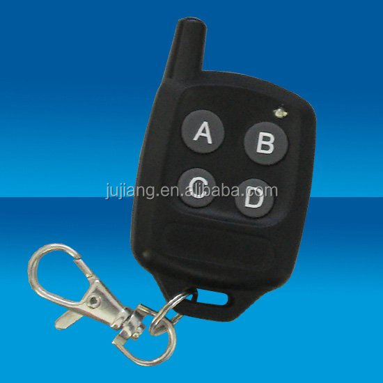 Wireless Porta Del Garage di Metallo 2 Tasti RF Remote Control HCS301