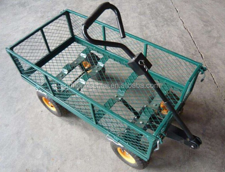 Two Wheel And Four Wheel Garden Way Cart