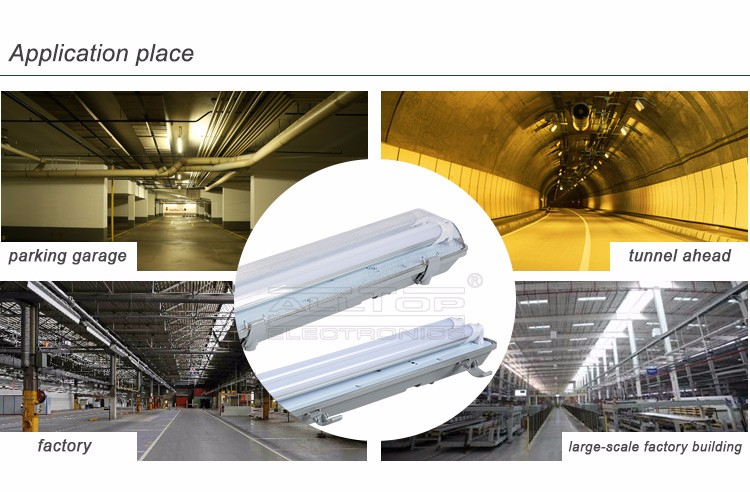 Golden supplier new product ip65 waterproof 36w led tri-proof light