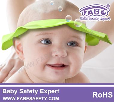 Fabe S116 Baby Shower Cap Shampoo Visor Bath