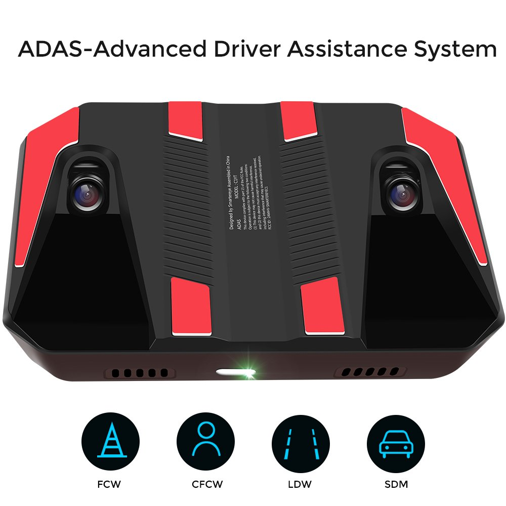 Buy Adas Advanced Driver Assistance System With Forward Collision Warning Lane Departure Warning Pedestrian Collision Warning Dual Lens Ultra Hd Camera Smarter Eye For Car Sedan Or Suv In Cheap Price On Alibaba Com