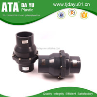 high quality DIN/ANSI socket connection pvc pipe check valve