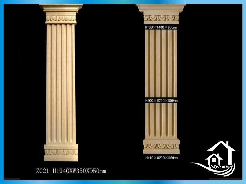Square pillar designs images for Pillar design for houses in kerala