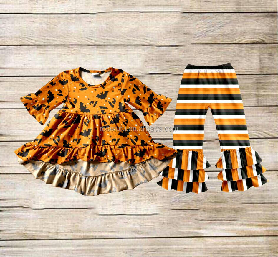 ef5a68a47 Boya Fashion Halloween baby girls clothes sets wholesale toddler clothing  girls dress names with pictures