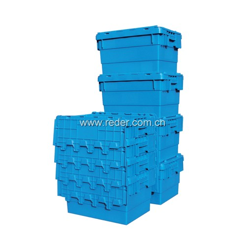 Popular plastic crate for fruits vegetables potatoes storage and transportation