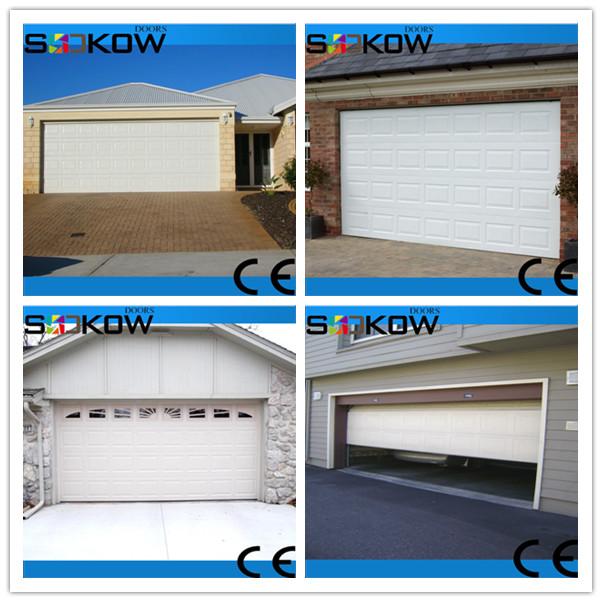 Cheap glass sectional garage door cheap alumium glass door for Sectional glass garage door