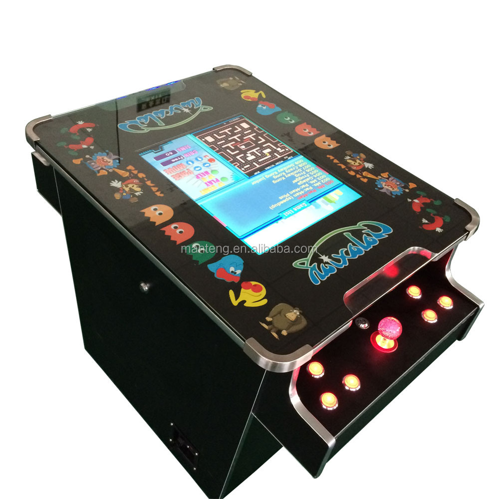 Pacman Table Game >> Galaxian Themed Cocktail Table Top Machine 60 Retro Games Pacman