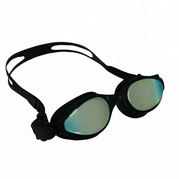 water sports best black swimming goggles with liquid silicone injection technology