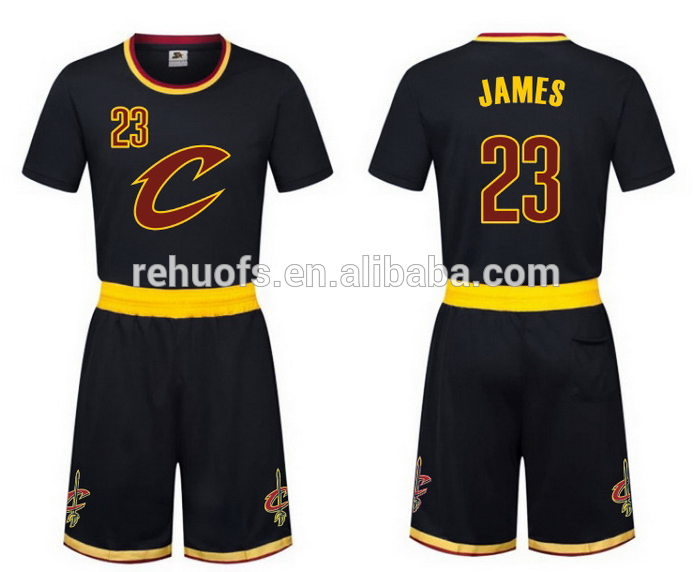 64ca18fea0e Lebron James basketball jersey design dry fit basketball jersey uniform. >