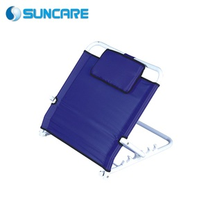 Rehabilitation therapy supplies hospital bed steel backrest