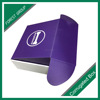 Purple color tuck top box free stock sample CMYK printing