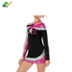 Popular Designs Varsity Girls Cheerleader Long Sleeve Cheerleading Uniform Costume For Girls
