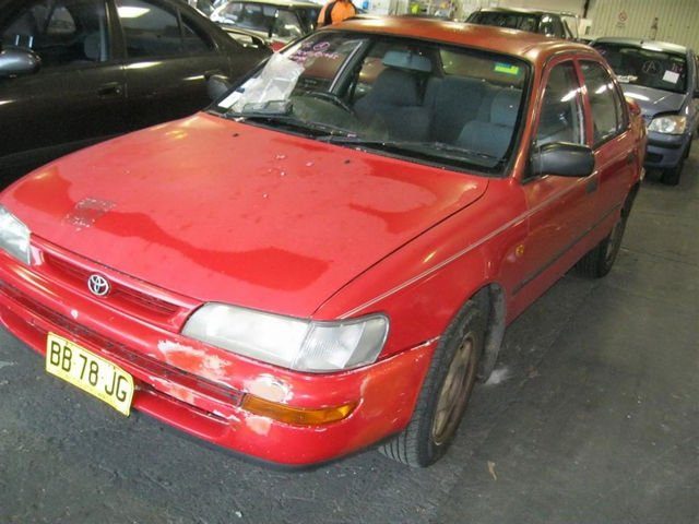 Toyota corolla ae100 complete car cutting