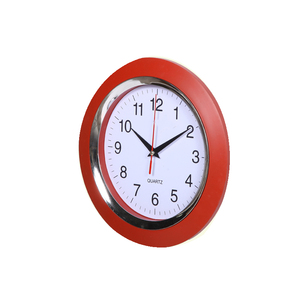 Customized Character Cheap Decoration Plastic Clock For Promotion