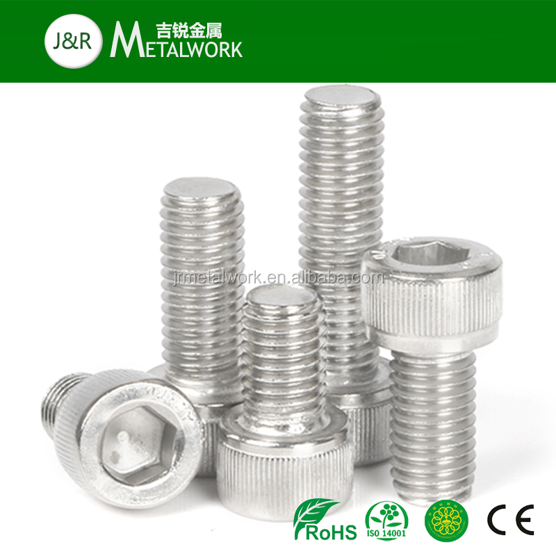 M8 M10 M12 Stainless Steel Hex Socket Cap Head Bolt DIN912