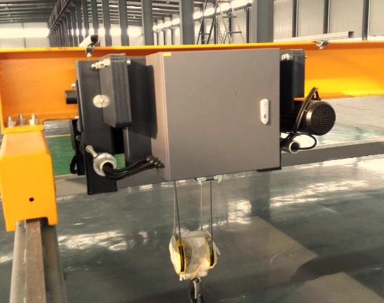 High Quality Euro Type Single Girder Overhead Crane 10 Ton