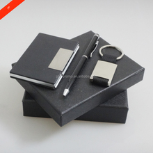 custom giveaway use promotional corporate leather gift set