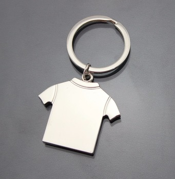 Personalized T-shirt Shape Keychain Metal Keychain Can Be Customized