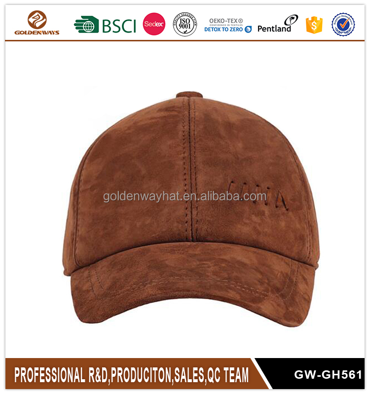 Fashion Creative Suede Baseball <strong>Cap</strong> for Men Good Quality