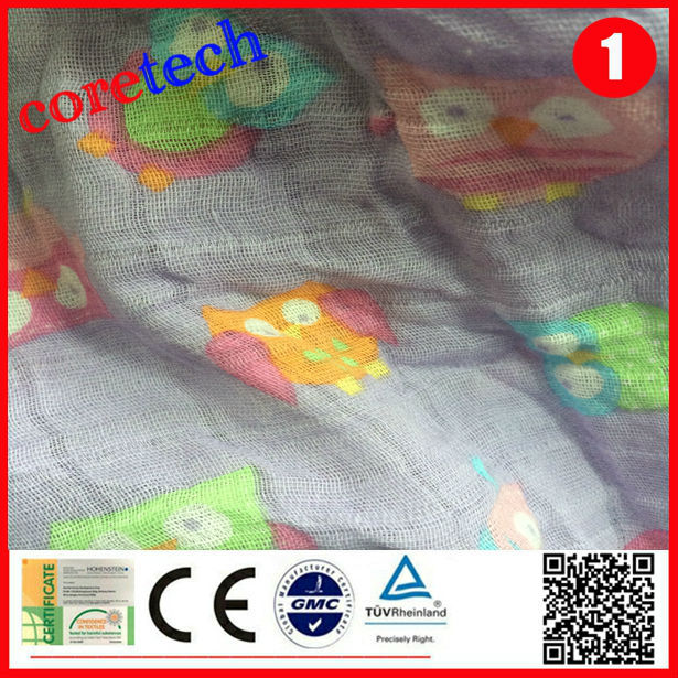 Organic anti-bacterial baby diaper nappy material, printed diapers
