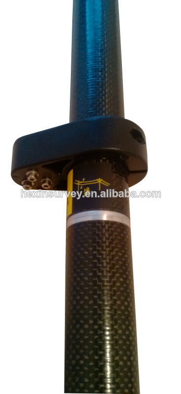 GPS carbon fibre pole