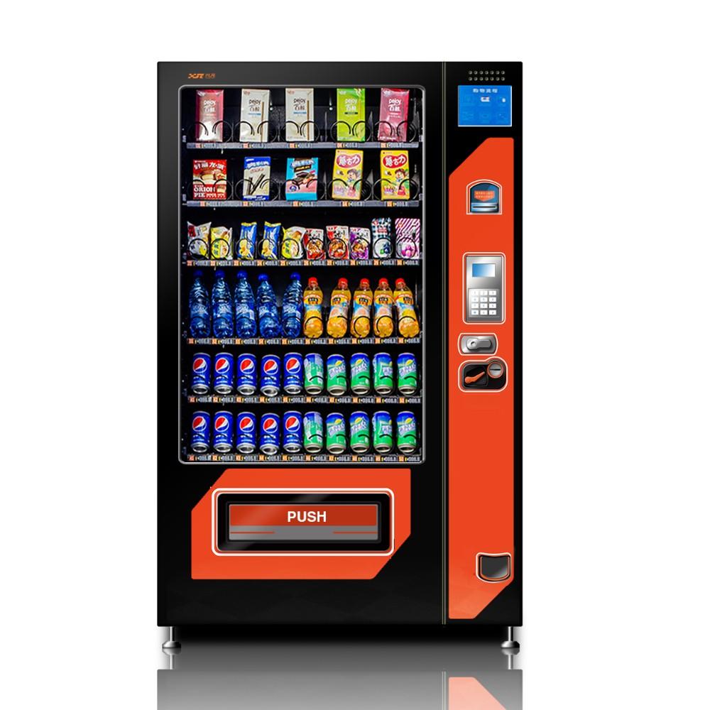 Vending machine snacks and drinks & combo vending machine