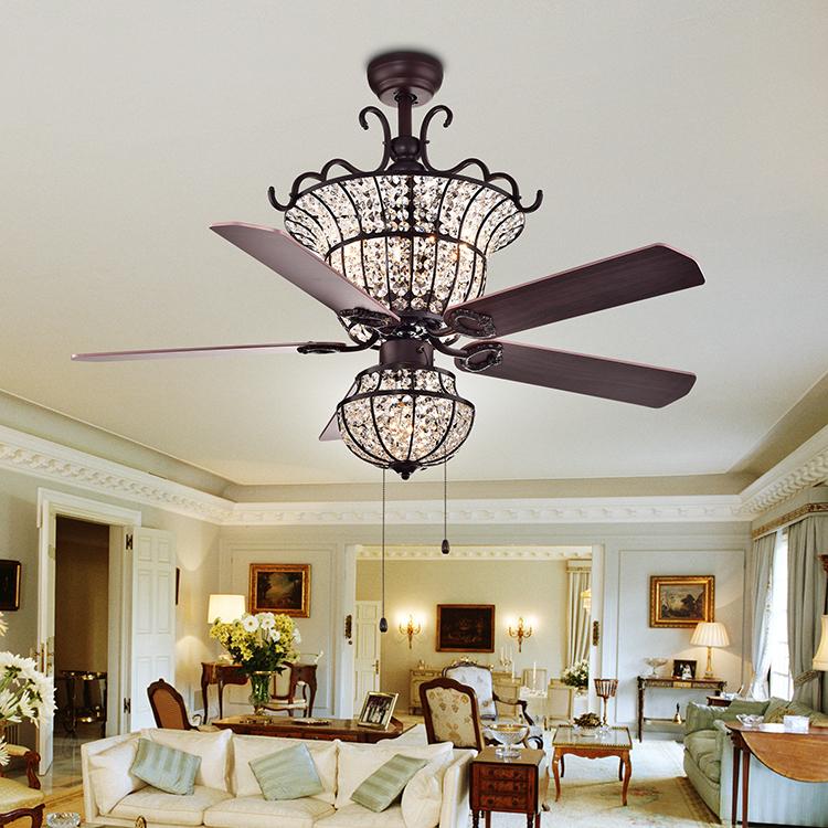 Luxury Crystal Chandelier Ceiling Fan Rustic Silver Crystal Remote Control Ceiling Fan With Light Buy Crystal Ceiling Fan With Light Chandelier