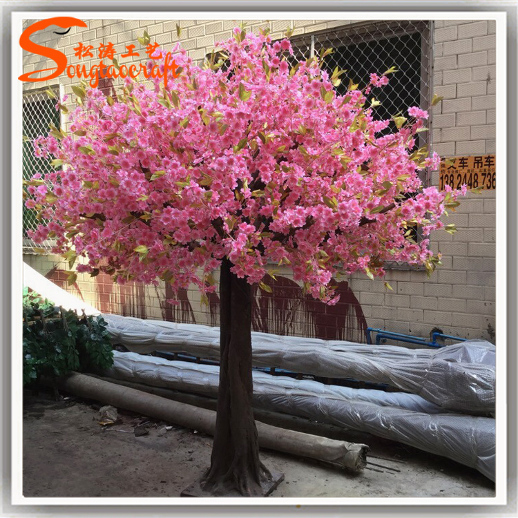 Nouveau produit l 39 int rieur artificiel cherry blossom for Arbres artificiels interieur
