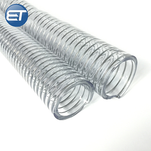 PVC Spiral Steel Wire Water Hose reinforced pipe