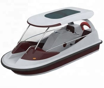 Fiberglass water pedal boat for sale