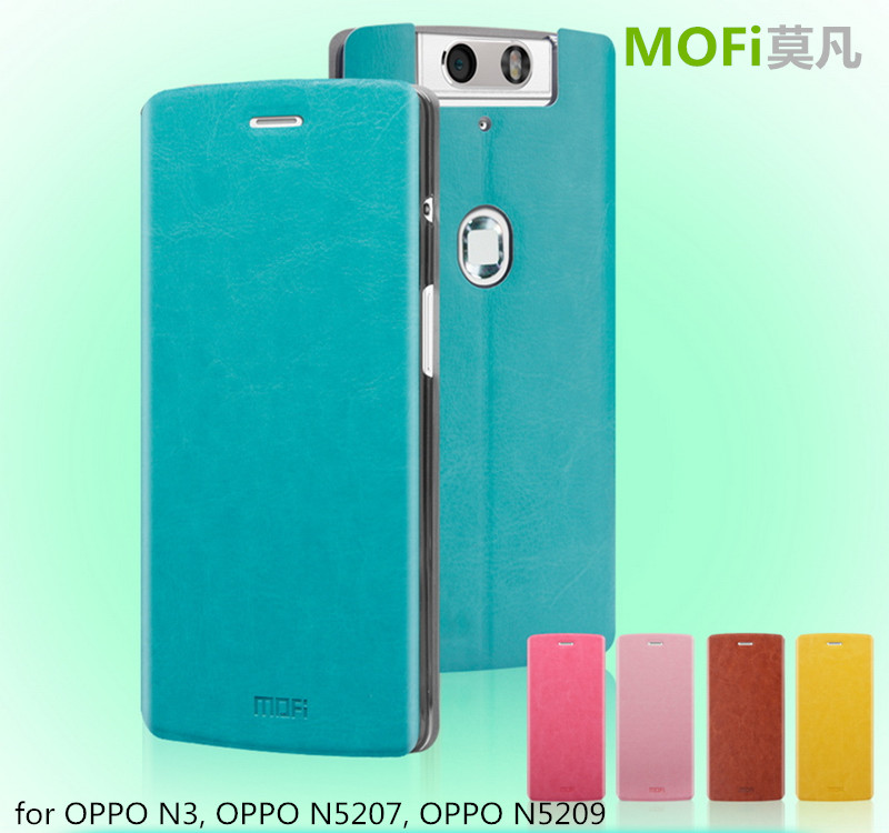 newest de8ee 26329 Mofi Case Celular Leather Housing For Oppo N3 N5207,Mobile Phone Coque Flip  Back Cover For Oppo N5209 - Buy Cover For Oppo N3,Mofi,N3 Mobile Phone ...