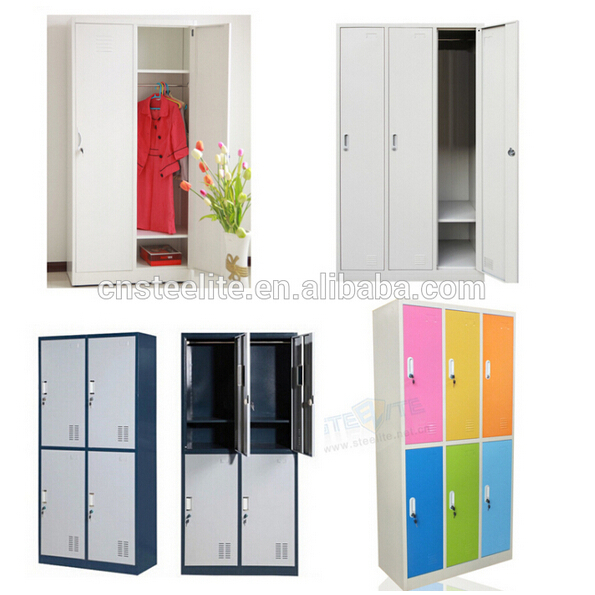 lateral 3 door steel hospital clothes cabinet for 3 people / three doors horizontal steel light  sc 1 st  Alibaba & Lateral 3 Door Steel Hospital Clothes Cabinet For 3 People / Three ...